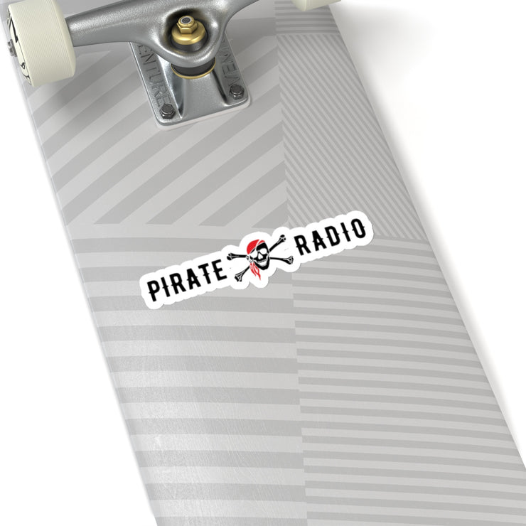 GSR Pirate Radio Diecut Sticker