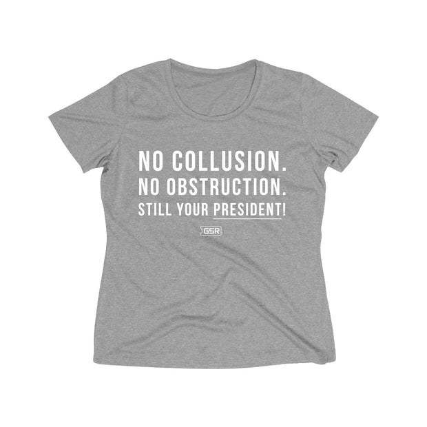 GSR Ladies No Collusion No Obstruction Tee