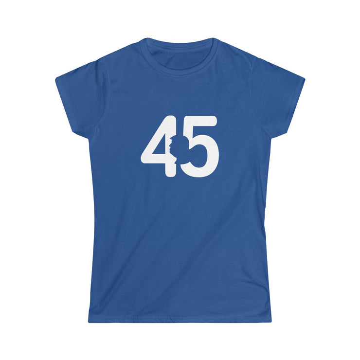 Ladies POTUS 45 Silhouette Junior Fit Tee