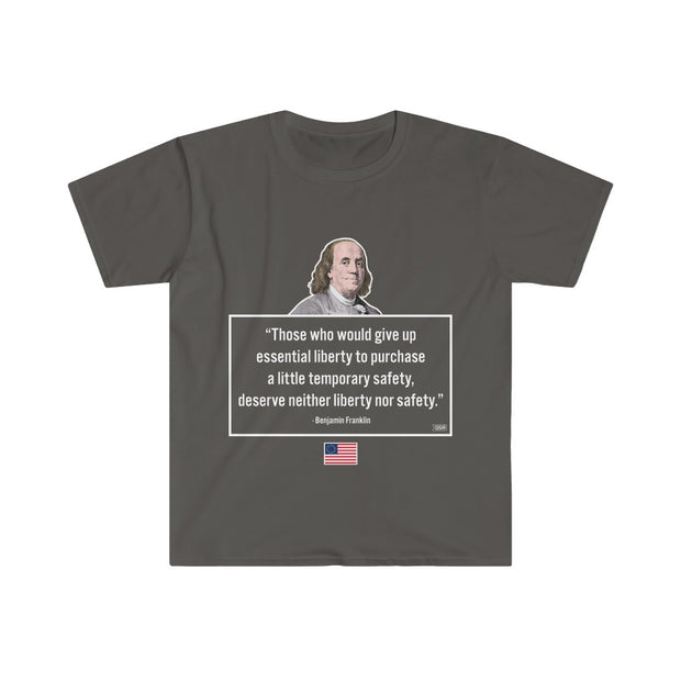 GSR Franklin Liberty Freedom Mens Tee