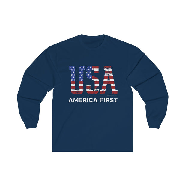 GSR USA America First Long Sleeve Tee