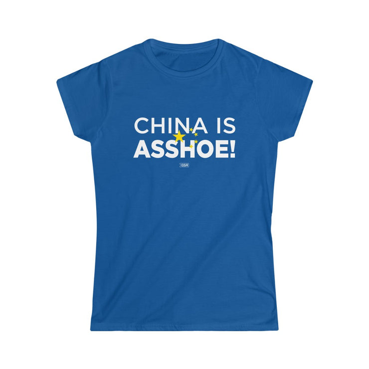 GSR China Is Asshoe Junior Fit Tee