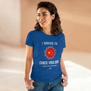 GSR Ladies I Survived The Chinese Virus Tee