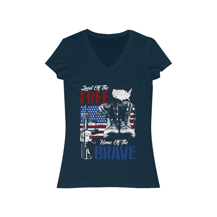 GSR Ladies Land of the Free V Tee
