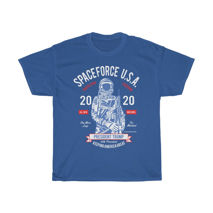GSR Mens Space Force USA Astronaut Tee