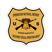 GSR BNI Operation Faithful Patriot Die-cut Stickers