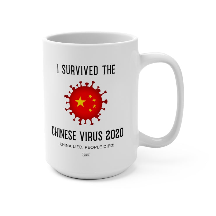 GSR I Survived The Chinese Virus Mug