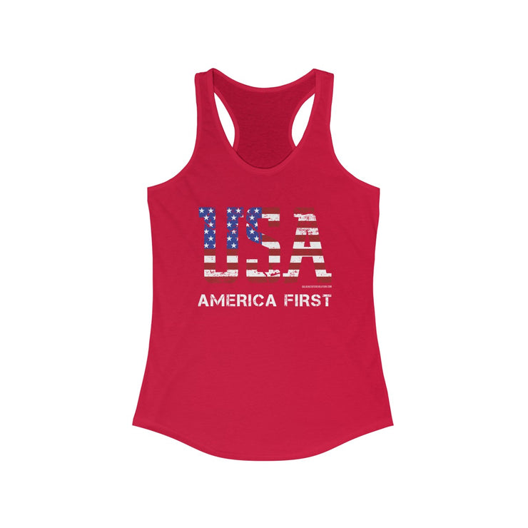 GSR Ladies Razorback Tank Top
