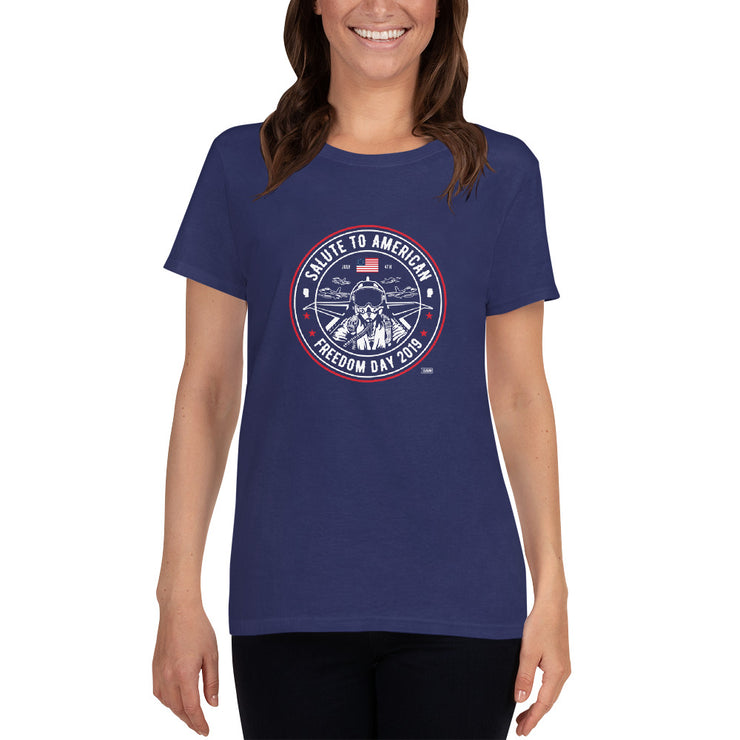 GSR Ladies Salute to American Freedom Day Tee