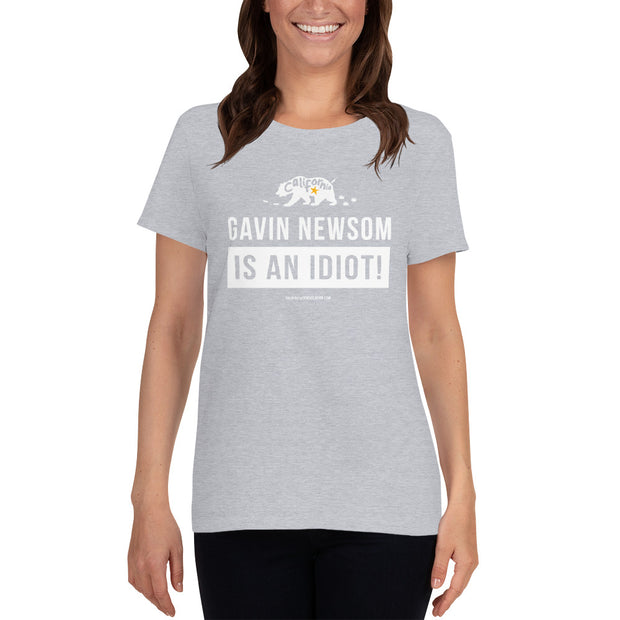 GSR Ladies Newsom Is An Idiot Tee