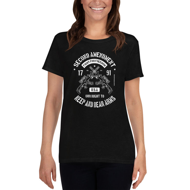 GSR Ladies Second Amendment Tee