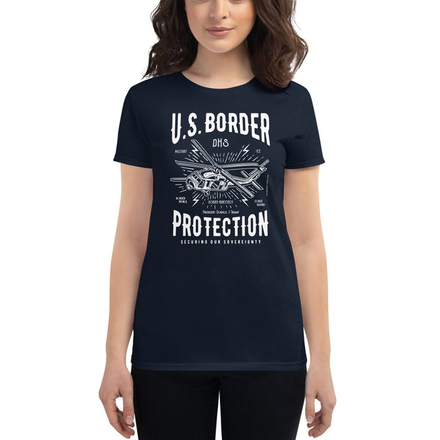 GSR Ladies US Border Protection Tee