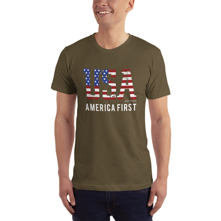 GSR USA America First Mens Tee