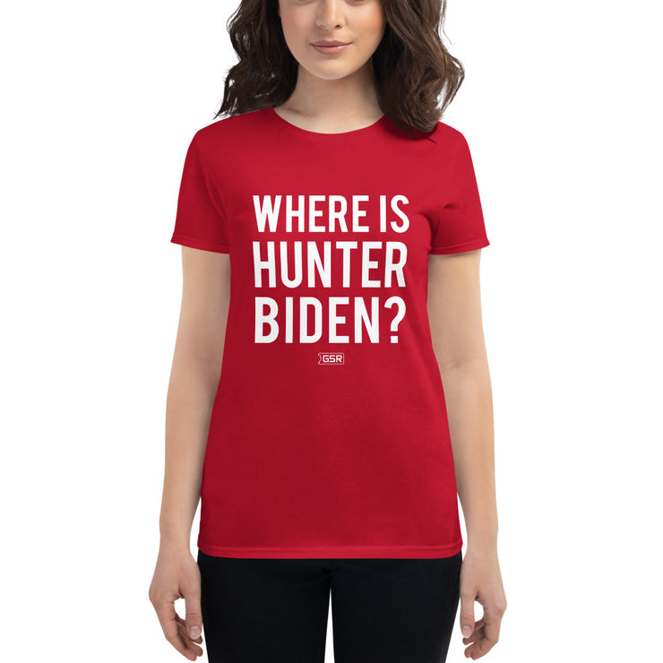 GSR Womens Where is Hunter Biden Tee