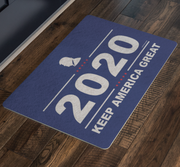 "GSR Trump 2020 Keep America Great 26""x18"" Welcome Mat"