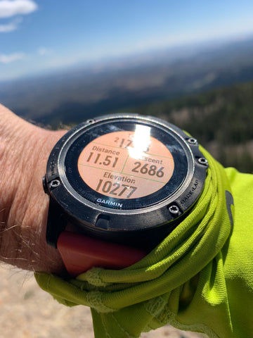 Watch with high elevation
