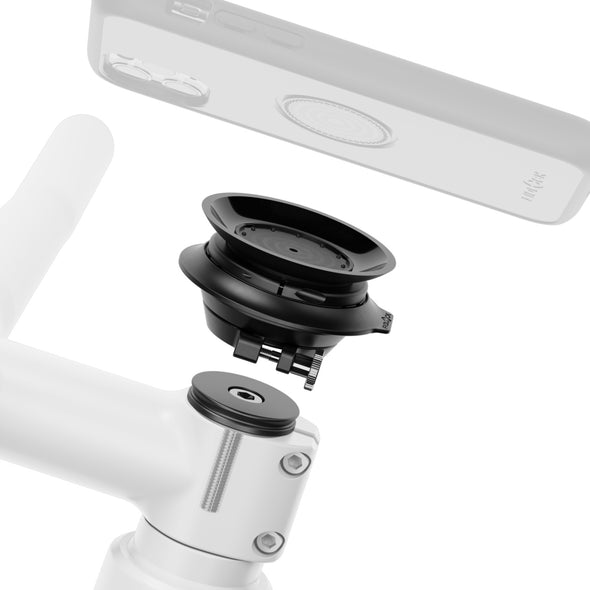 VACUUM stem-cap base for smartphone mounting