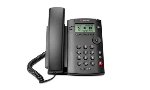 2200-40250-001 Poly VVX 101 Desktop Phone, w/PSU  (New)