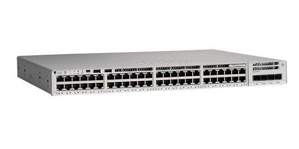 C9200L-48P-4G-E Cisco Catalyst 9200L Switch, Network Essentials, 48 Gigabit Ethernet PoE+ with 4 1Gig SFP Uplink Ports (New)