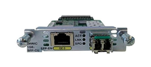 EHWIC-1GE-SFP-CU Cisco Enhanced High-Speed WAN Interface Card (New)