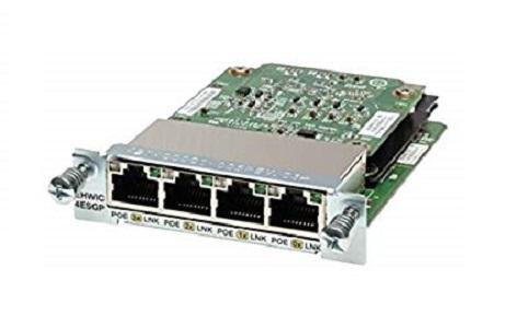 EHWIC-4ESG-P Cisco Enhanced High-Speed WAN Interface Card (New)