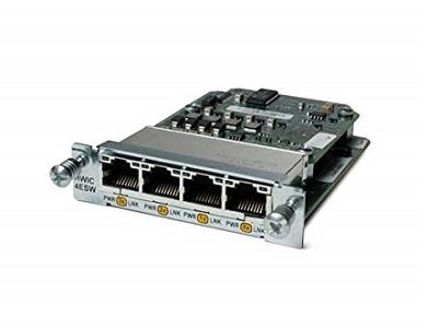 HWIC-4ESW-POE Cisco High-Speed WAN Interface Card (New)