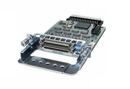 HWIC-8A/S-232 Cisco High-Speed WAN Interface Card (New)