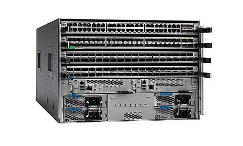 N9K-C9504-B1 Cisco Nexus 9500 Chassis Bundle (New)