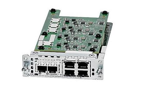 NIM-2FXS/4FXO Cisco Network Interface Module (New)