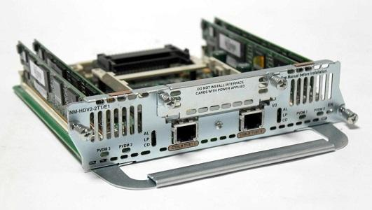 NM-HDV2-2T1/E1 Cisco Network Module (New)