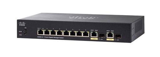 SG350-10-K9-NA Cisco Small Business SG350-10 Managed Switch, 8 Gigabit Ehternet and 2 Gigabit SFP Combo Ports (New)
