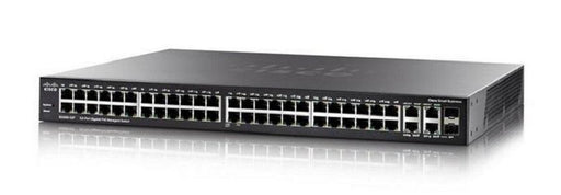 SG350-52P-K9-NA Cisco Small Business SG350-52MP Managed Switch, 48 Gigabit with 2 Gigabit SFP Combo & 2 SFP Ports, 740w PoE (New)