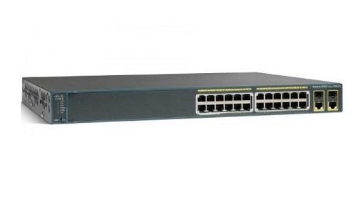 WS-C2960+24PC-S Cisco Catalyst 2960-Plus Network Switch (New)