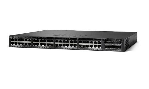 WS-C3650-48FQ-E Cisco Catalyst 3650 Network Switch (New)