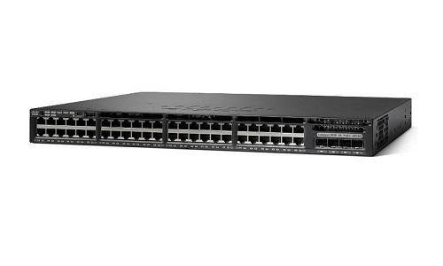 WS-C3650-48FWD-S Cisco Catalyst 3650 Network Switch Bundle (New)