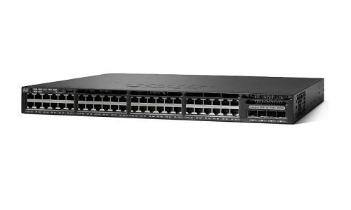 WS-C3650-48PWS-S Cisco Catalyst 3650 Network Switch Bundle (New)