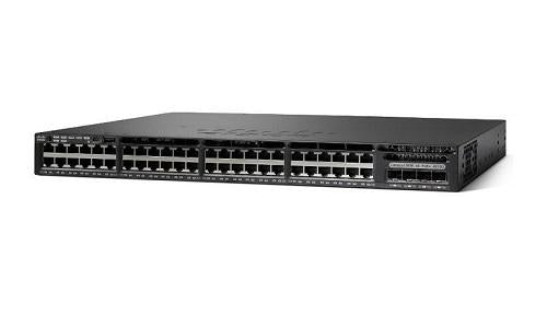WS-C3650-48TS-E Cisco Catalyst 3650 Network Switch (New)