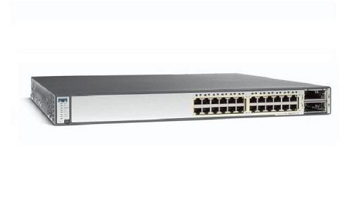WS-C3750E-24PD-S Cisco Catalyst 3750E Network Switch (New)