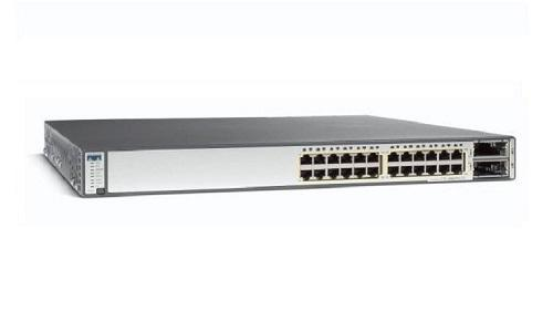 WS-C3750E-24TD-S Cisco Catalyst 3750E Network Switch (New)