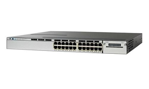 WS-C3750X-24P-S Cisco Catalyst 3750X Network Switch (New)