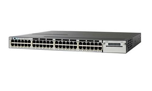 WS-C3750X-48T-E Cisco Catalyst 3750X Network Switch (New)