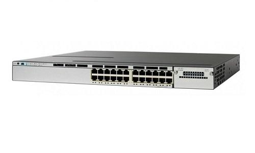 WS-C3850-24T-E Cisco Catalyst 3850 Network Switch (New)