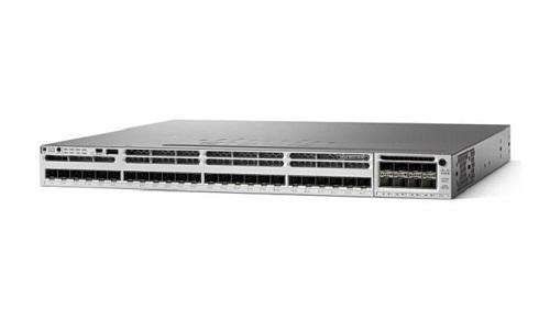 WS-C3850-32XS-S Cisco Catalyst 3850 Network Switch Bundle (New)