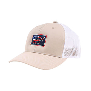 Patriotic iFish Patched Mesh-Back Trucker Hat