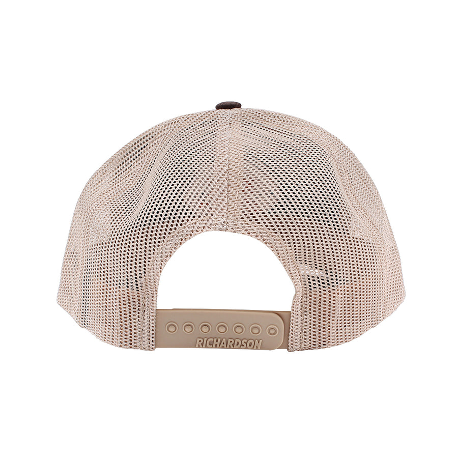 Hex Logo Patched Mesh-Back Trucker Hat