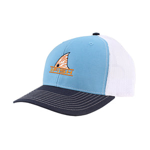 The Fin Patched Mesh-Back Trucker Hat