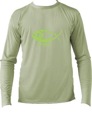Long Sleeve Performance Shirt - Sage