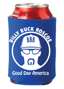 Billy Buck Roscoe Can Coozie - Blue