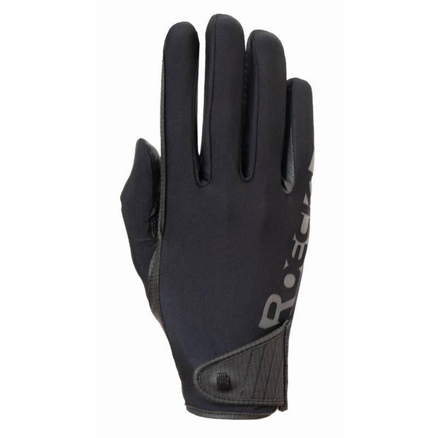 Roeckl Unisex Muenster Gloves - Black