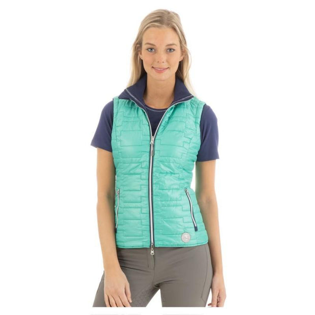 Anky SS20 Reversible Gilet - Dark Blue and Teal